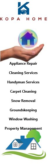 kopa home services, all appliance repair and home services
